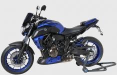 Προέκταση Μπροστινού Φτερού MT 07 Ermax 2018-2020 Yamaha Μαύρη