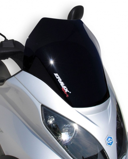 Ζελατίνα MP3 300 Ermax Κοντή 2007-2012 Piaggio Σκούρο Φιμέ 40cm
