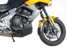 Προέκταση Μπροστινού Φτερού Versys 650 Ermax 2010-2014 Kawasaki Μαύρη
