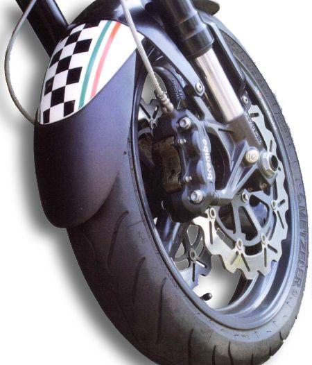 Προέκταση Μπροστινού Φτερού Versys 1000 Ermax 2012-2018 Kawasaki Μαύρη