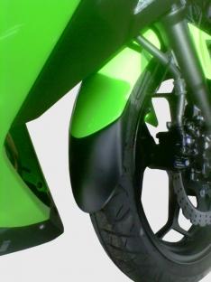 Προέκταση Μπροστινού Φτερού Ninja 300 Ermax 2013-2016 Kawasaki Μαύρη