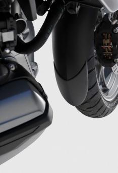 Προέκταση Μπροστινού Φτερού R 1200GS ADV Ermax 2013-2018 BMW Μαύρη