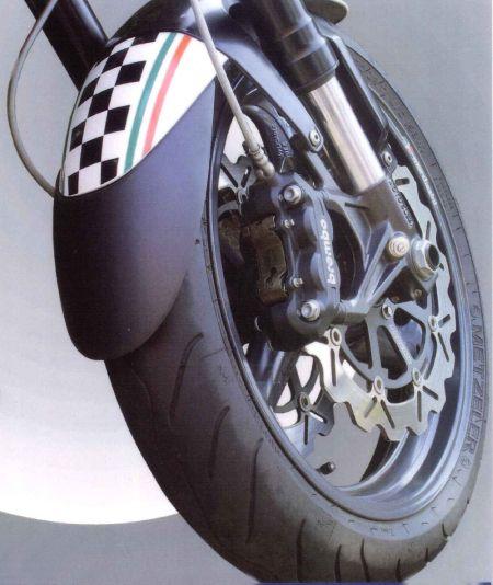 Προέκταση Μπροστινού Φτερού ER6 N/F Ermax 2009-2011 Kawasaki Μαύρη