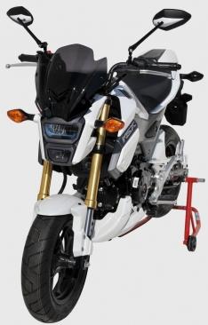 Φτερό Εμπρός Τροχού MSX 125 Ermax 2016-2019 Honda Μαύρο Άβαφο Πλαστικό