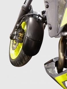 Προέκταση Μπροστινού Φτερού MT 07 Ermax 2014-2017 Yamaha Μαύρη
