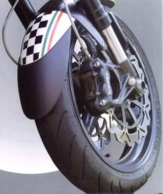 Προέκταση Μπροστινού Φτερού FZ1 N Ermax 2006-2015 Yamaha Μαύρη