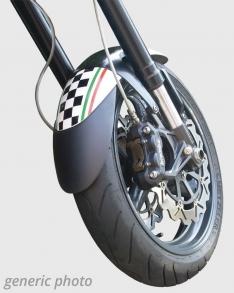 Προέκταση Μπροστινού Φτερού N Max 125/155 Ermax 2015-2020 Yamaha Μαύρη