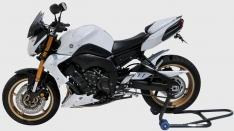 Προέκταση Μπροστινού Φτερού FZ8 Ermax 2010-2017 Yamaha Μαύρη