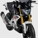 Ζελατίνα G 310 R Ermax Κοντή 2017-2021 BMW Σκούρο Φιμέ 30cm