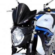 Ζελατίνα SVF 650 Gladius Ermax Κοντή 2009-2015 Suzuki Σκούρο Φιμέ 22cm
