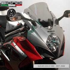 Ζελατίνα GSXR 1000 Κουρμπαριστή Biondi 2007-2008 Suzuki Διάφανη