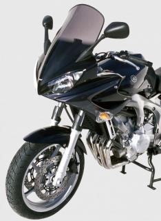 Ζελατίνα Fazer 600 FZ6 Ermax Ψηλή 2004-2007 Yamaha Ελαφρώς Φιμέ