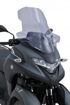 Ζελατίνα Tricity 300 Ermax Ψηλή 2020-2021 Yamaha Ελαφρώς Φιμέ 70cm