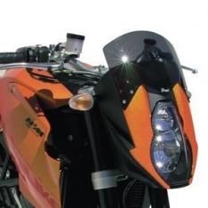 Ζελατίνα Super Duke 990 Ermax Ψηλή 2006-2007 KTM Σκούρο Φιμέ 20cm