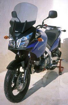 Ζελατίνα DL 1000 V-Strom Ermax Ψηλή 2004-2011 Suzuki Ελαφρώς Φιμέ 49cm