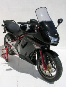 Ζελατίνα ER6 F Ermax Ψηλή 2006-2008 Kawasaki Ελαφρώς Φιμέ 57cm