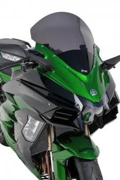 Ζελατίνα Ninja H2 SX Ermax Ψηλή 2018-2020 Kawasaki Σκούρο Φιμέ 47cm