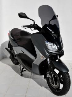 Ζελατίνα X Max 250 Ermax Ψηλή 2010-2013 Yamaha Ελαφρώς Φιμέ