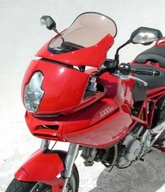 Ζελατίνα Multistrada 620/1000/1100 DS Ermax Ψηλή 2004-2009 Ducati Ελαφρώς Φιμέ 32cm