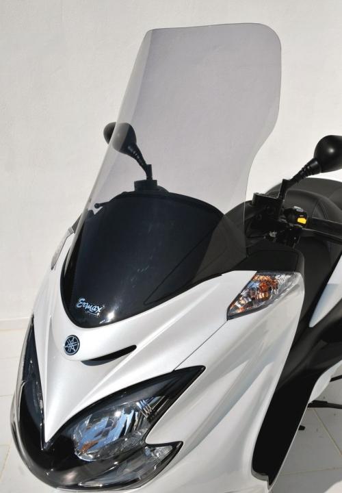 Ζελατίνα Majesty 400 Ermax Ψηλή 2009-2016 Yamaha Ελαφρώς Φιμέ 74cm