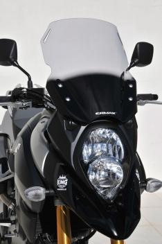 Ζελατίνα DL 1000 V-Strom Ermax Ψηλή 2014-2019 Suzuki Ελαφρώς Φιμέ 43cm