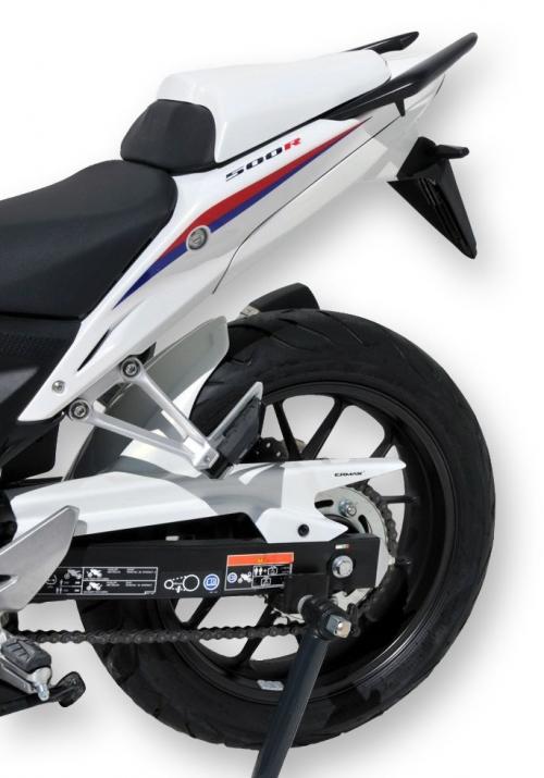 Φτερό Πίσω Τροχού CBR 500R Ermax 2016-2018 Honda Μαύρο Άβαφο Πλαστικό