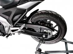 Φτερό Πίσω Τροχού NC 750 X Ermax 2021 Honda Μαύρο Άβαφο Πλαστικό