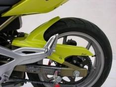 Φτερό Πίσω Τροχού ER6 N Ermax 2006-2008 Kawasaki Μαύρο Άβαφο Πλαστικό