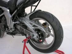 Φτερό Πίσω Τροχού Versys 650 Ermax 2007-2009 Kawasaki Μαύρο Άβαφο Πλαστικό