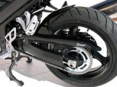 Φτερό Πίσω Τροχού GSX 1250 FA Ermax 2012-2017 Suzuki Μαύρο Άβαφο Πλαστικό