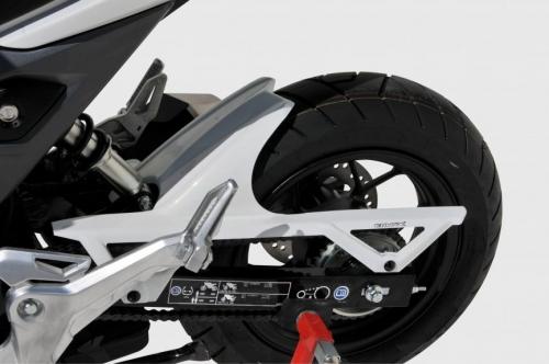 Φτερό Πίσω Τροχού MSX 125 Ermax 2016-2019 Honda Μαύρο Άβαφο Πλαστικό
