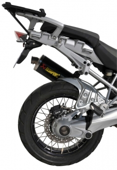 Φτερό Πίσω Τροχού R 1200GS ADV Ermax 2004-2012 BMW Μαύρο Άβαφο Πλαστικό