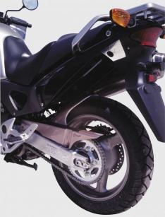 Φτερό Πίσω Τροχού Varadero 1000 Ermax 1999-2009 Honda Μαύρο Άβαφο Πλαστικό