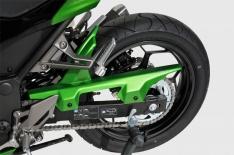 Φτερό Πίσω Τροχού Z 300 Ermax 2015-2016 Kawasaki Μαύρο Άβαφο Πλαστικό