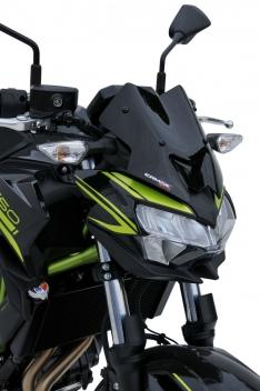 Ζελατίνα Z 650 Ermax Κοντή 2020-2021 Kawasaki Σκούρο Φιμέ