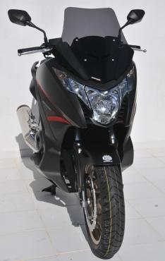 Ζελατίνα Integra 700 Ermax Κοντή 2012-2013 Honda Σκούρο Φιμέ 48cm