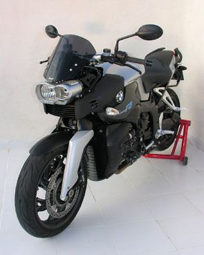 Ζελατίνα K1200/1300 R Ermax Ψηλή 2006-2008 BMW Σκούρο Φιμέ 30cm