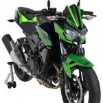 Παμπρίζ Z 400 Ermax Κοντή 2019-2020 Kawasaki Μαύρο Άβαφο Πλαστικό 25cm