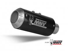 Τελικά Εξάτμισης Mivv MK3 Hypermotard 950 2019-2020 Carbon