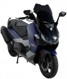 Ζελατίνα Maxsym 500 TL Ermax Κοντή 2020-2021 Sym Σκούρο Φιμέ 47cm