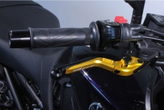 Μανέτα Φρένου Yamaha MT 09 2014-2020 MG Biketec Σπαστή Χρυσή
