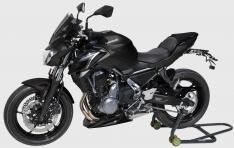 Προέκταση Μπροστινού Φτερού Z 650 Ermax 2017-2019 Kawasaki Μαύρη