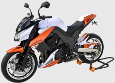 Προέκταση Μπροστινού Φτερού Z 1000 Ermax 2010-2013 Kawasaki Μαύρη