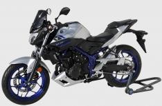 Προέκταση Μπροστινού Φτερού MT 03 Ermax 2016-2019 Yamaha Μαύρη