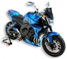 Αεραγωγοί Ψυγείου FZ1 N Ermax 2006-2015 Yamaha Μαύροι
