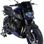 Ζελατίνα MT 07 Ermax Κοντή 2018-2020 Yamaha Σκούρο Φιμέ 26cm