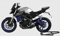 Προέκταση Μπροστινού Φτερού MT 125 Ermax 2014-2019 Yamaha Μαύρη