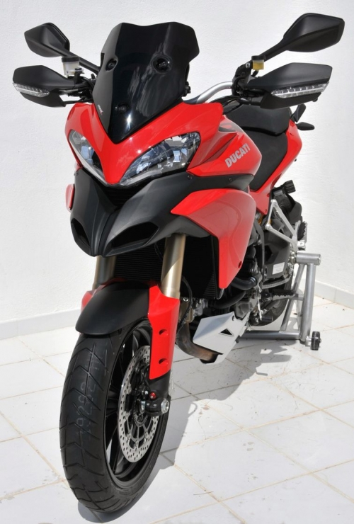 Ζελατίνα Multistrada 1200 S Ermax Κοντή 2010-2012 Ducati Σκούρο Φιμέ 38cm
