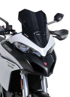 Ζελατίνα Multistrada 950 Ermax Κοντή 2018-2020 Ducati Σκούρο Φιμέ 39cm