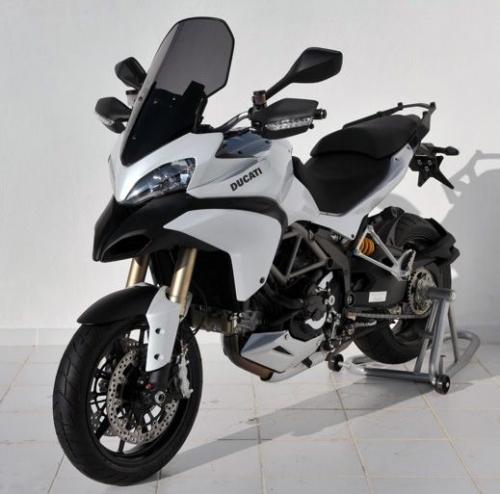 Ζελατίνα Multistrada 1200 S Ermax Ψηλή 2010-2012 Ducati Σκούρο Φιμέ 62cm